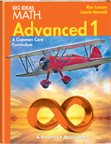 Big Ideas Math - Common Core 2014 - Advanced 1 - Orange Book